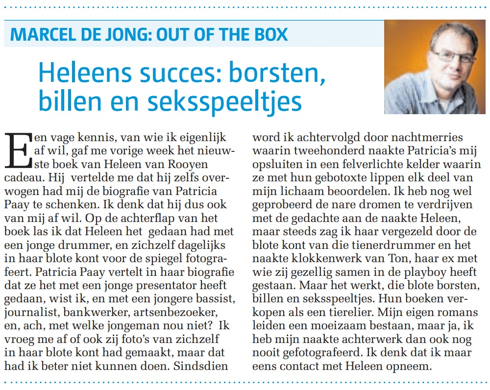 Column DP 25 mei 2013
